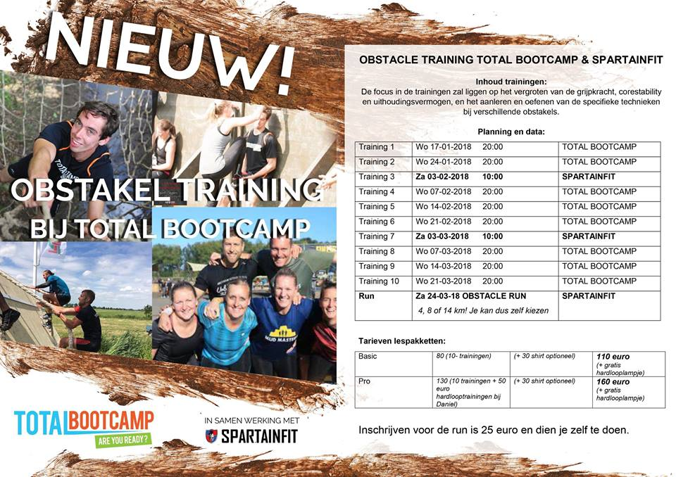 Obstakeltraining rooster